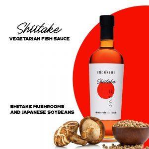 Shiitake vegetarian fish sauce